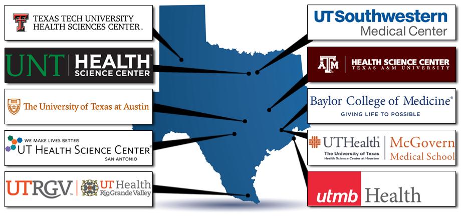 TARCC Member Institutions Map